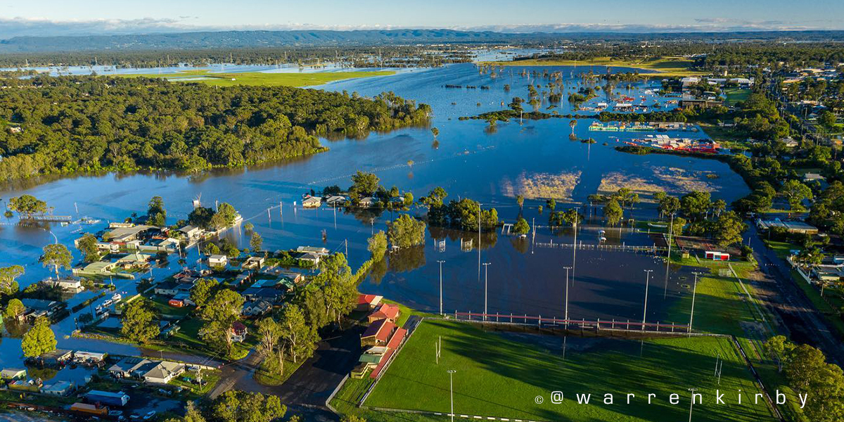 Floods in New South Wales 2021