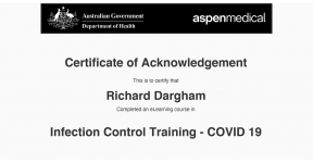 Recognition of Covid-19 Training